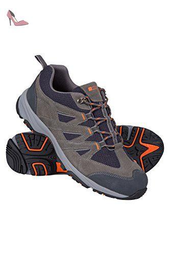 Mountain Warehouse Chaussures Homme Marche randonnée Daim Confort EVA All  Terrain Gris foncé 46 - Chaussures