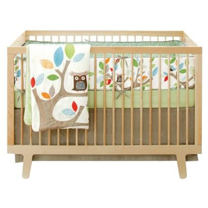 Adorable crib bedding.... why didn't they have this when I was pregnant?