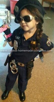 coolest little police officer costume - Girls Cop Halloween Costume