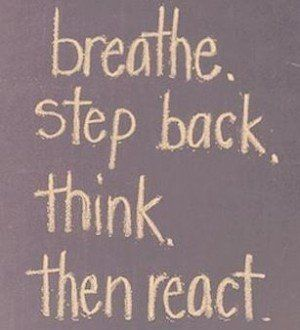 Mindfulness Quotes Mindful Living And Inspirational Quote Breathe Step Back Think
