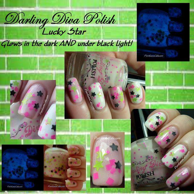 Darling Diva Polish - Lucky Star   Pointless Cafe   Nail polish ...