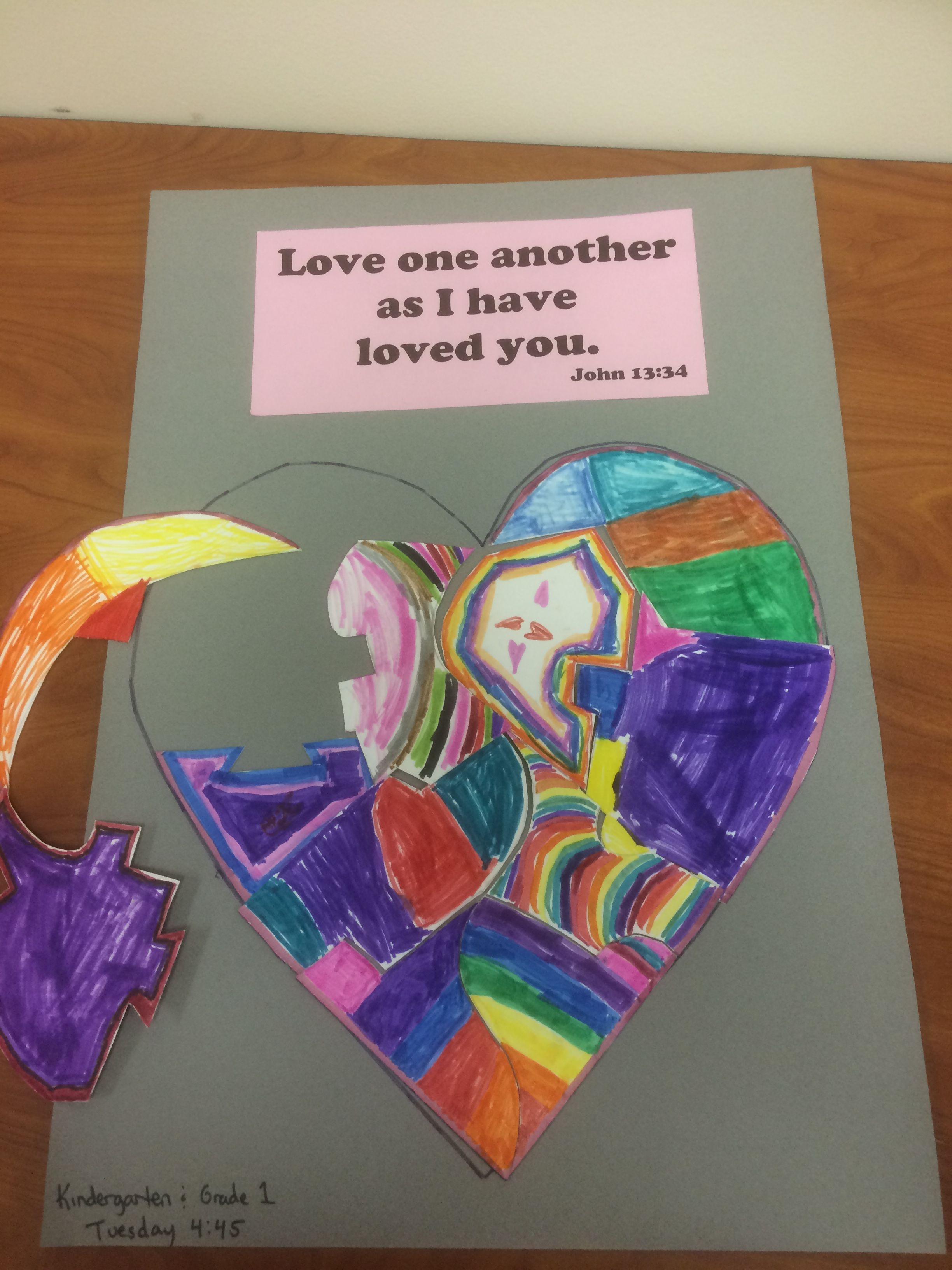 Love One Another Puzzle Art