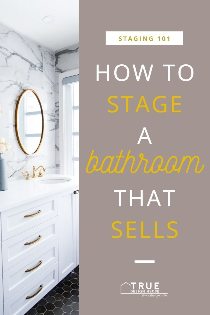 Learn exactly how to professionally stage a bathroom that sells. Get the 3-step plan that covers everything you absolutely need to get right before listing your home. Bonus: Immediate free download of my Ultimate Staging Checklist PDF list room-by room this covers everything you need to stage your own home! {{ true-design-house...   #StagingTips   #style #shopping #styles #outfit #pretty #girl #girls #beauty #beautiful #me #cute #stylish #photooftheday #swag #dress #shoes #diy #design ...