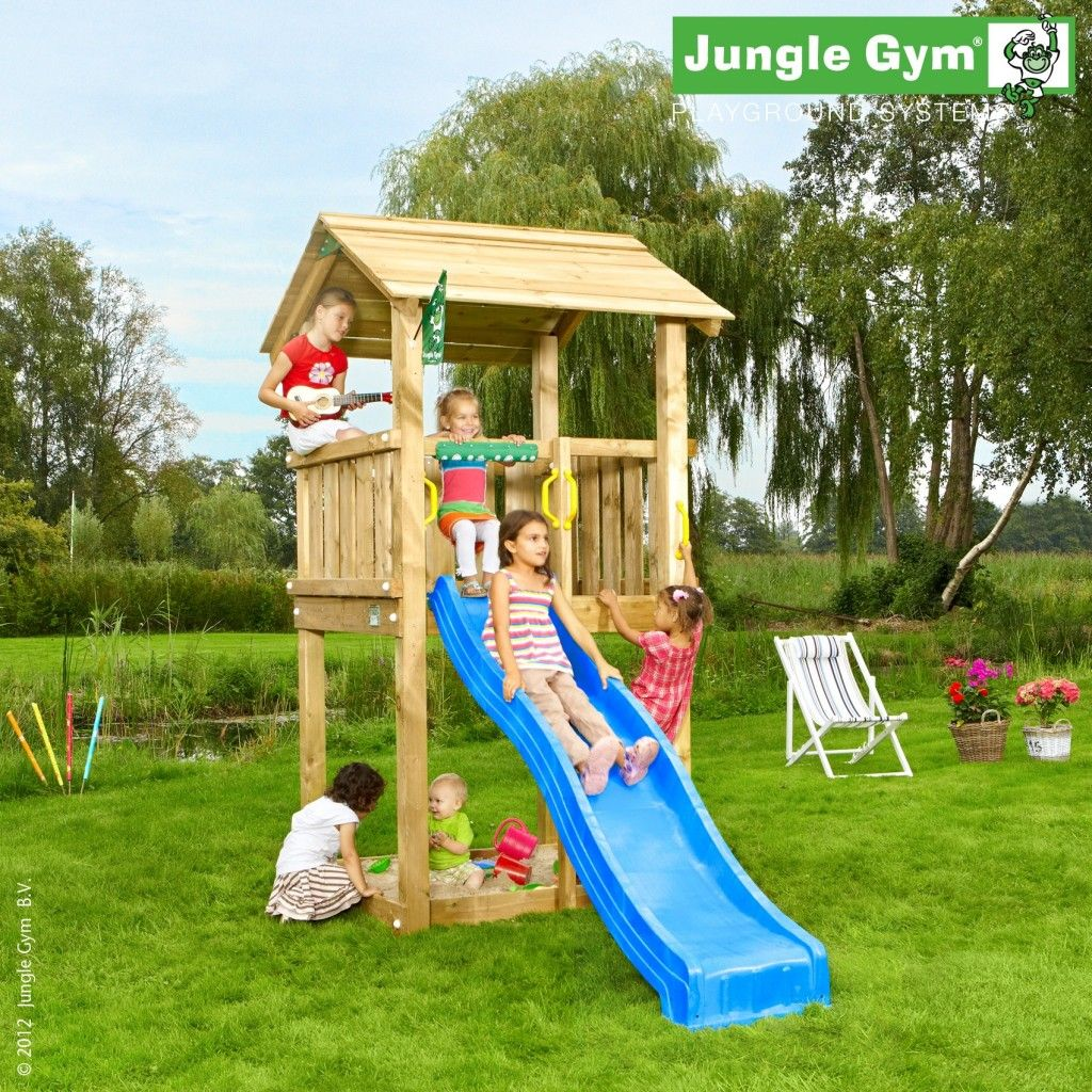 Jungle Gym Casa Kinder Klettergerust Kleiner Garten Kinder Spielturm