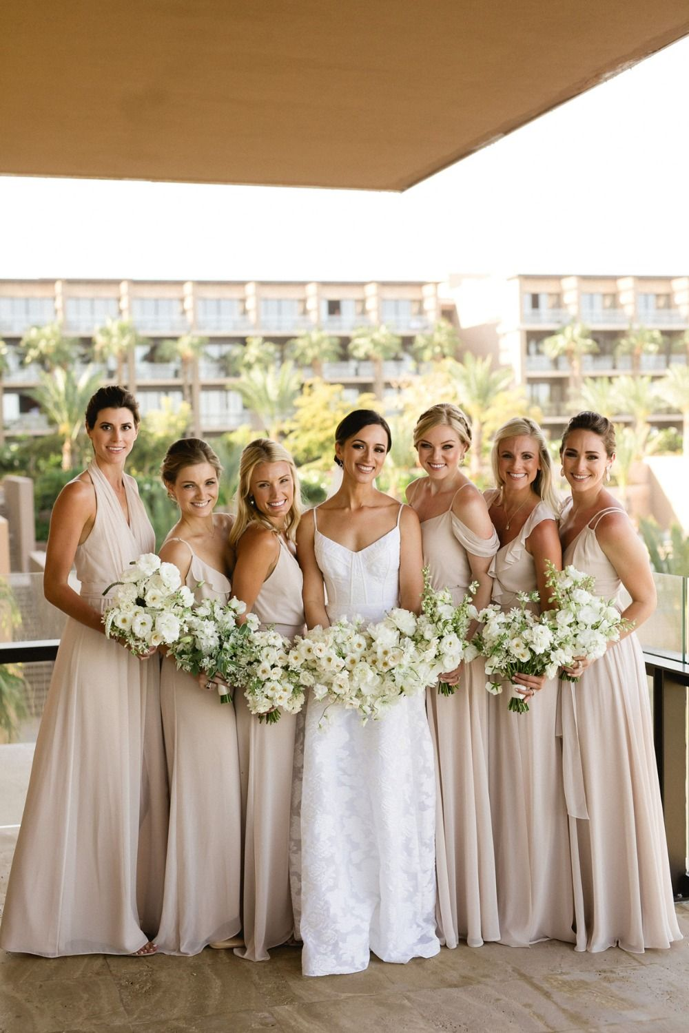 Classic And Elegant Blacktie Wedding Under A Canopy Of Flowers Bridesmaids Weddingplanning Weddinginspo Beigebridesmaidress Weddingdress: Black Tie Wedding Dress At Websimilar.org