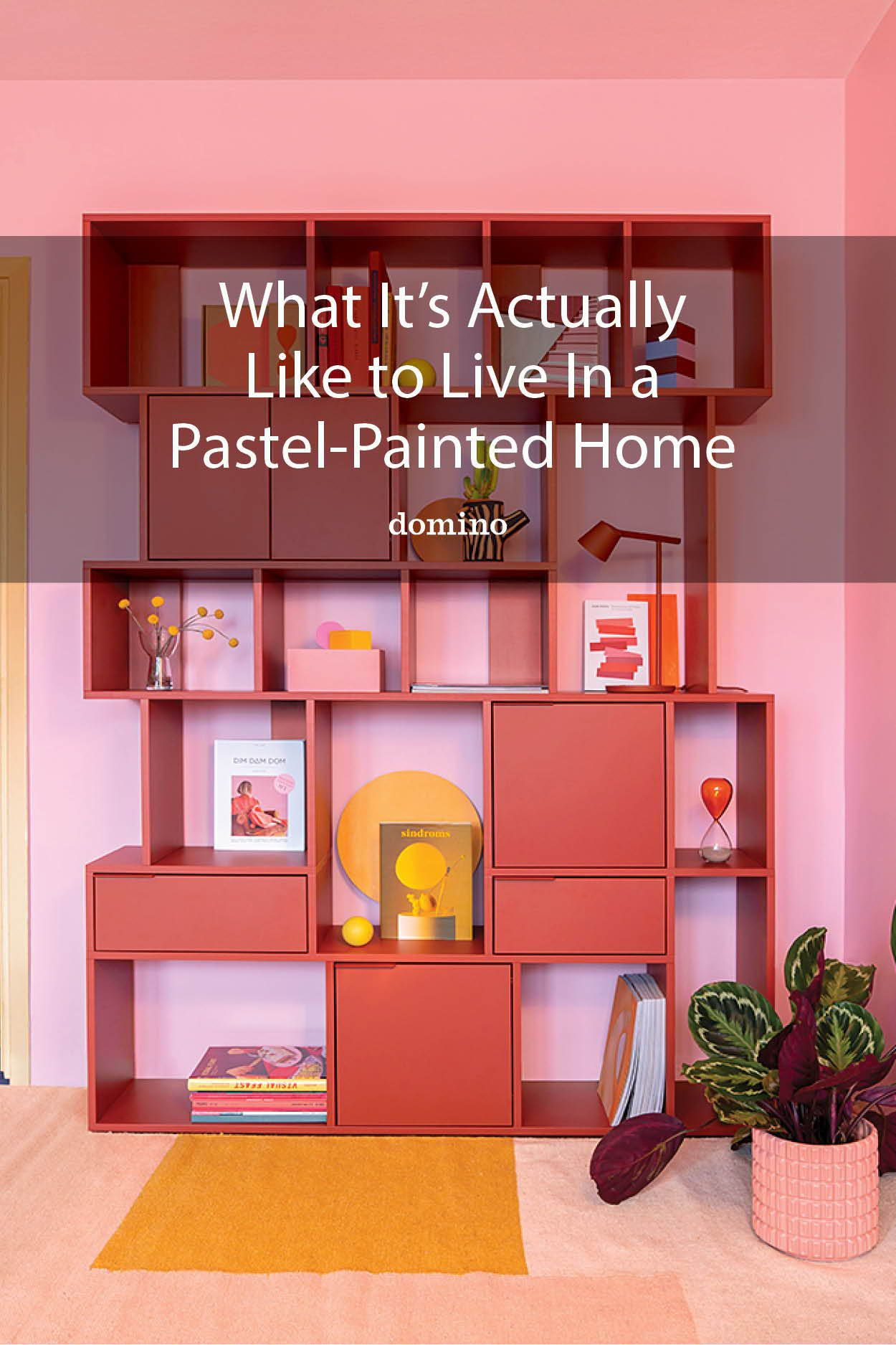 What It S Like To Live In A Pastel Color Palette In 2020 Pastel Colour Palette Colorful Interiors Pink Living Room #pastel #coloured #living #room