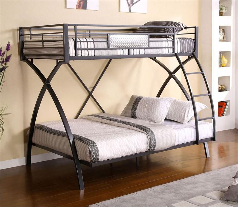 Apollo Ii Twin Over Full Metal Bunk With Images Cool Bunk Beds