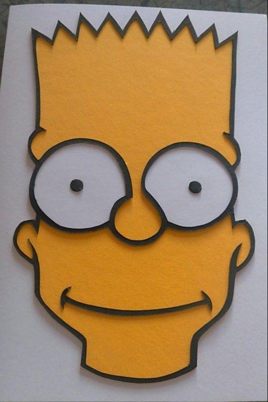 Bart Simpson Birthday Card The Simpsons Pinterest Birthday
