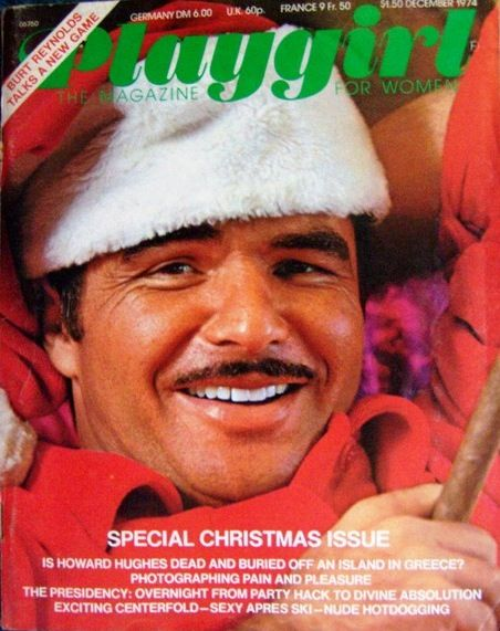 Playgirl, December 1974On The Cover Burt Reynolds  Burt Reynolds, Reynolds, Burt-9057