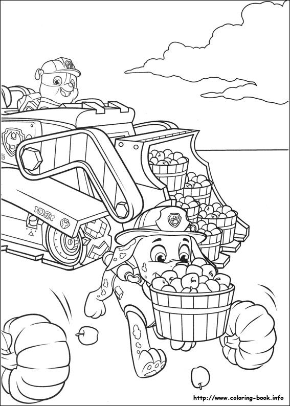 Paw Patrol coloring picture | Coloring Pages | Pinterest | Patrulla ...