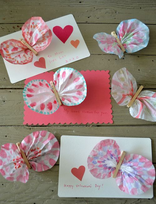 Coffee Filter Butterflies And Lots Of Other Great Summer Camp Crafts