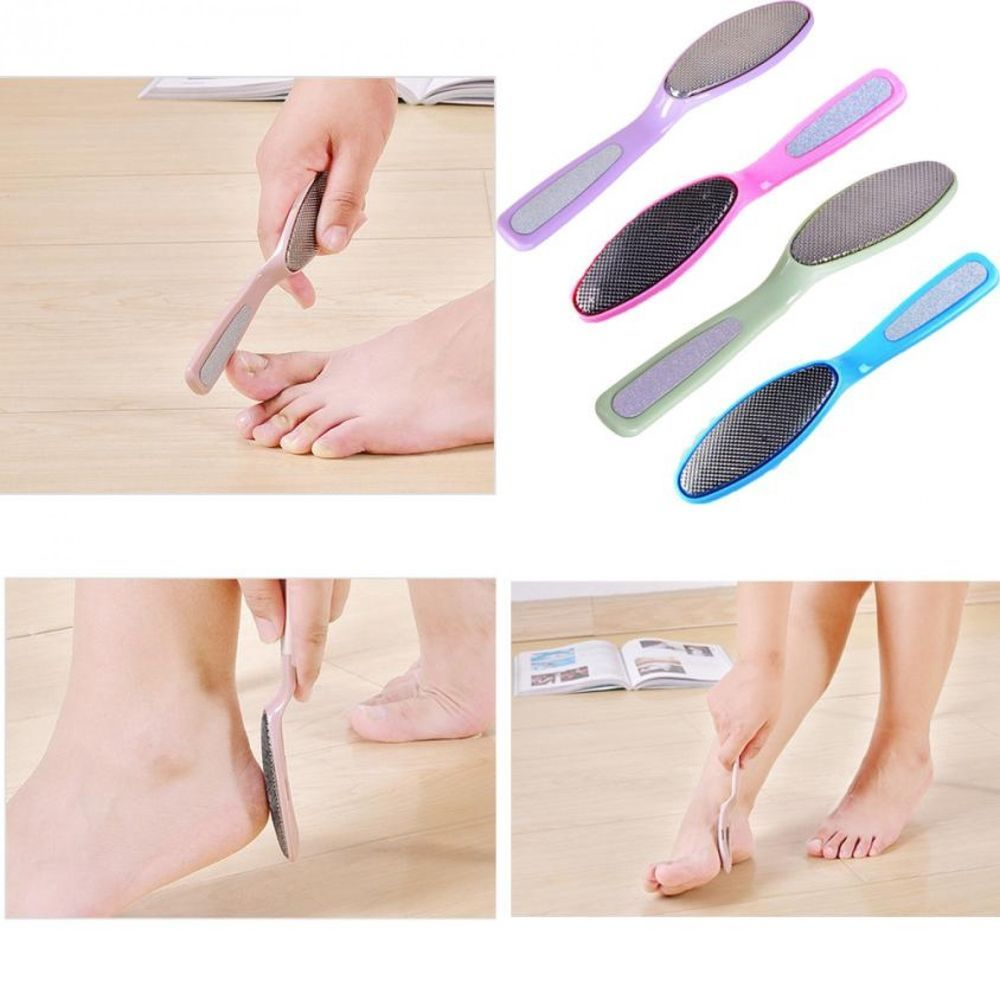 Foot File Double Side Manicure Pedicure Stainless Steel Nail Care ...
