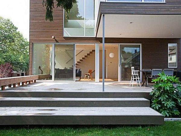 House Deck Designs Plans Tuin Bestrating Tuin