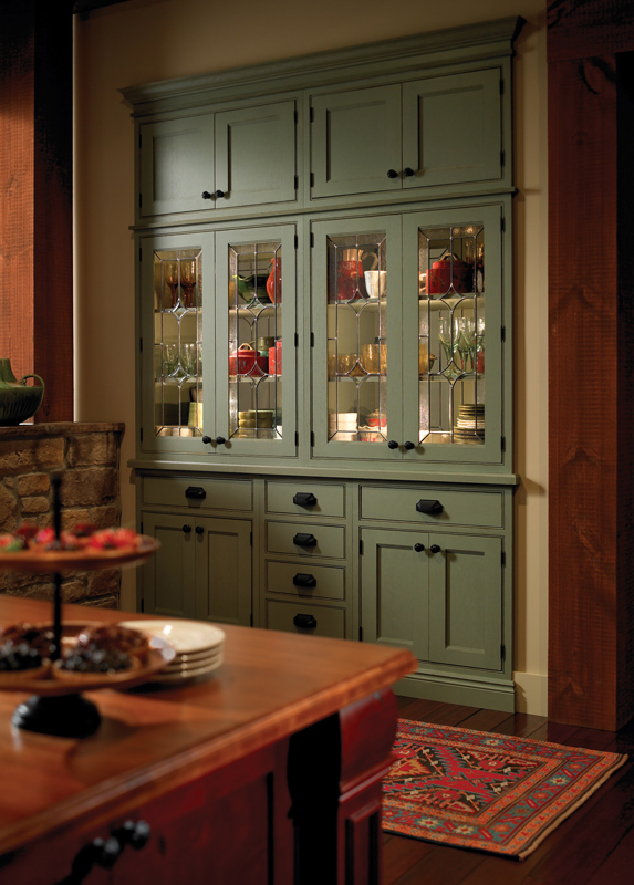 Custom built ins by Medallion Cabinetry. Stockton door style ...