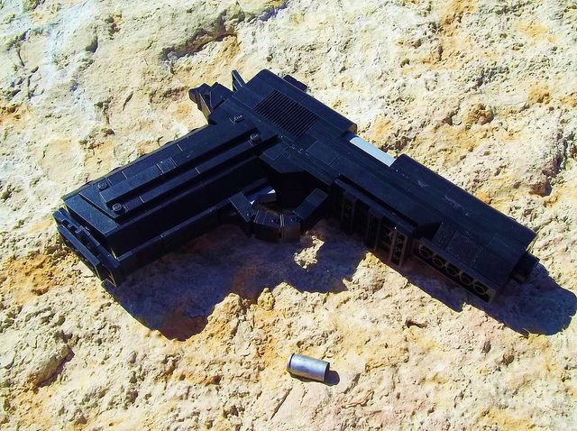 Lego Gun Of The Week Colt M1911 By Pink Stormtrooper Lego News