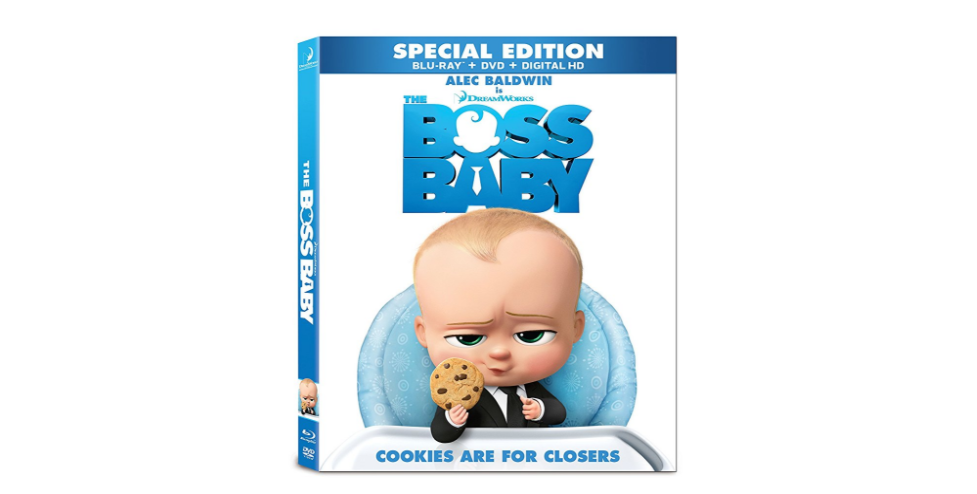 Why My Kids Are Obsessed With Boss Baby Now On Blu Ray Dvd Baby Dvd Boss Baby Baby Products 2017