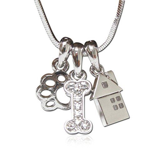 Lola Bella Gifts Crystal Hippo Hippopotamus Pendant Necklace and Earrings Set with Gift Box