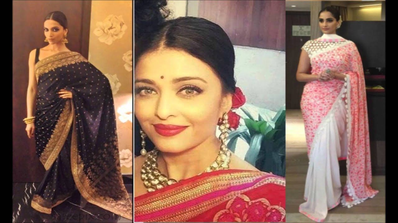 Best Hairstyle On Saree Looks Indian Hair Style Youtube In 2020 Indian Hairstyles Indian Party Hairstyles Cool Hairstyles