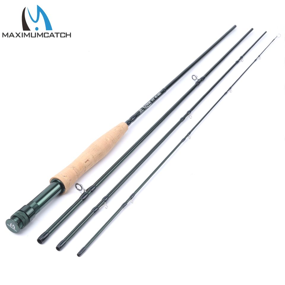 Maximumcatch 4 5 8wt Fly Rod Medium Fast Fly Fishing Rod Graphite Im8 Plastic Rod Tube Best Fly Fishing Rods Fly Fishing Rods Fly Rods