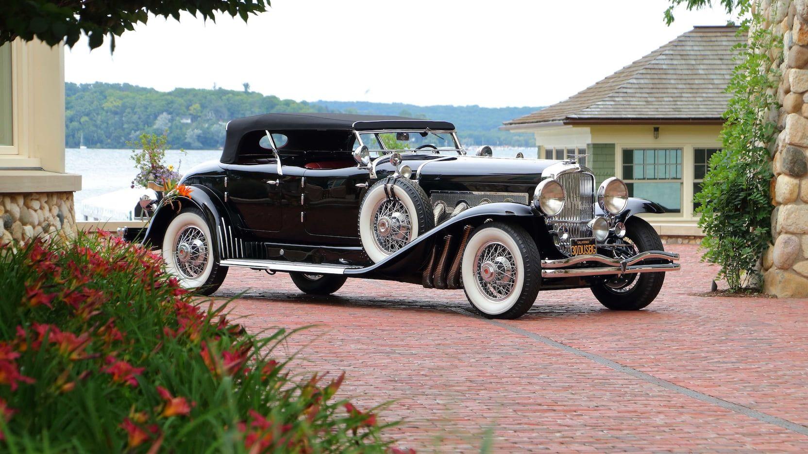 1930 Duesenberg Model J Torpedo Phaeton Cars For Sale Mecum