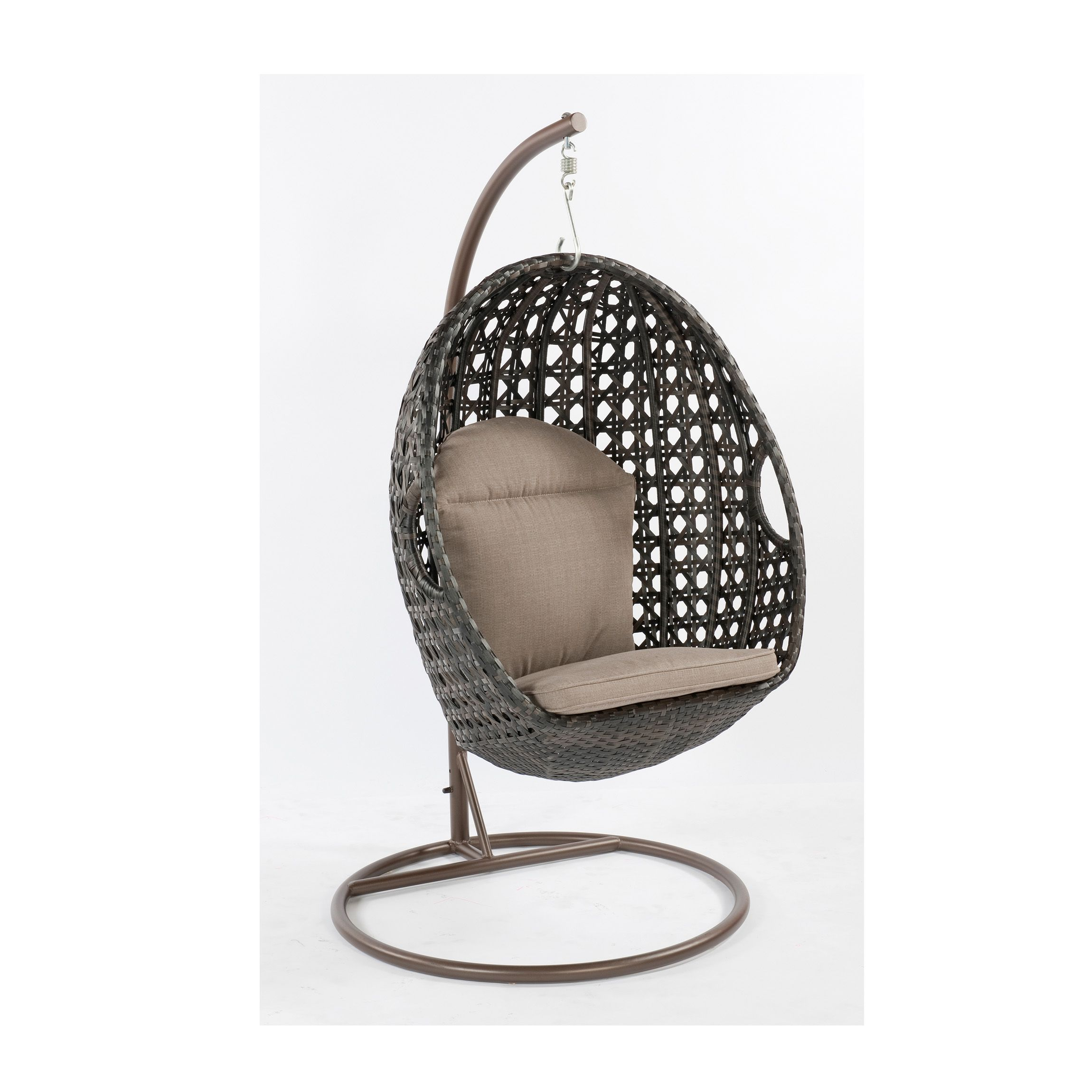 Al Fresco St Tropez Hanging Chair And Cushion Best Office For Short Person Mimosa Resin Wicker Egg Bunnings Warehouse The