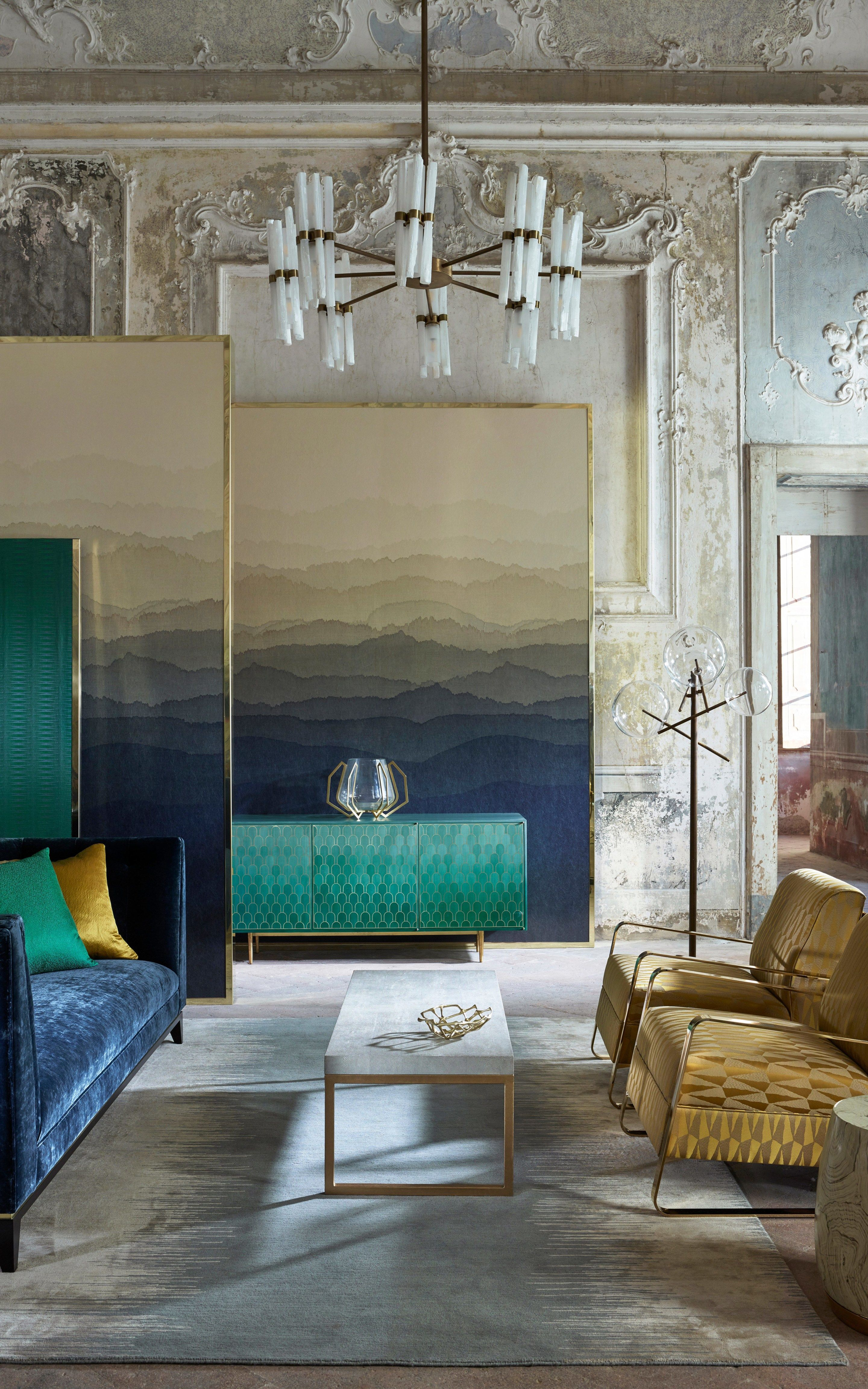 Trending Now The Best Gold Furniture For Your Luxury Interior Design Art Deco Living Room Interior Luxury Interior Design