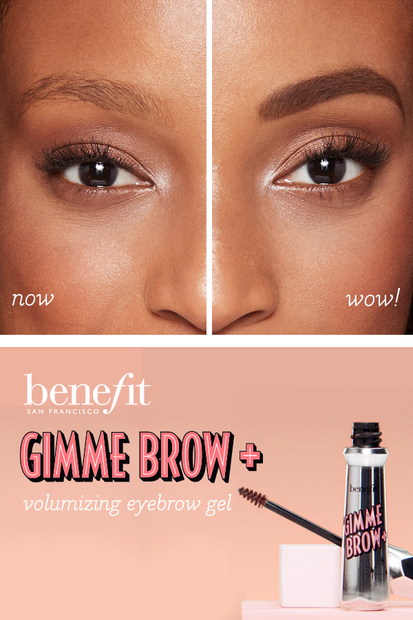 fe6ddc7d2da Take your brows from flat to full with Benefit's gimme brow+ volumizing  eyebrow gel