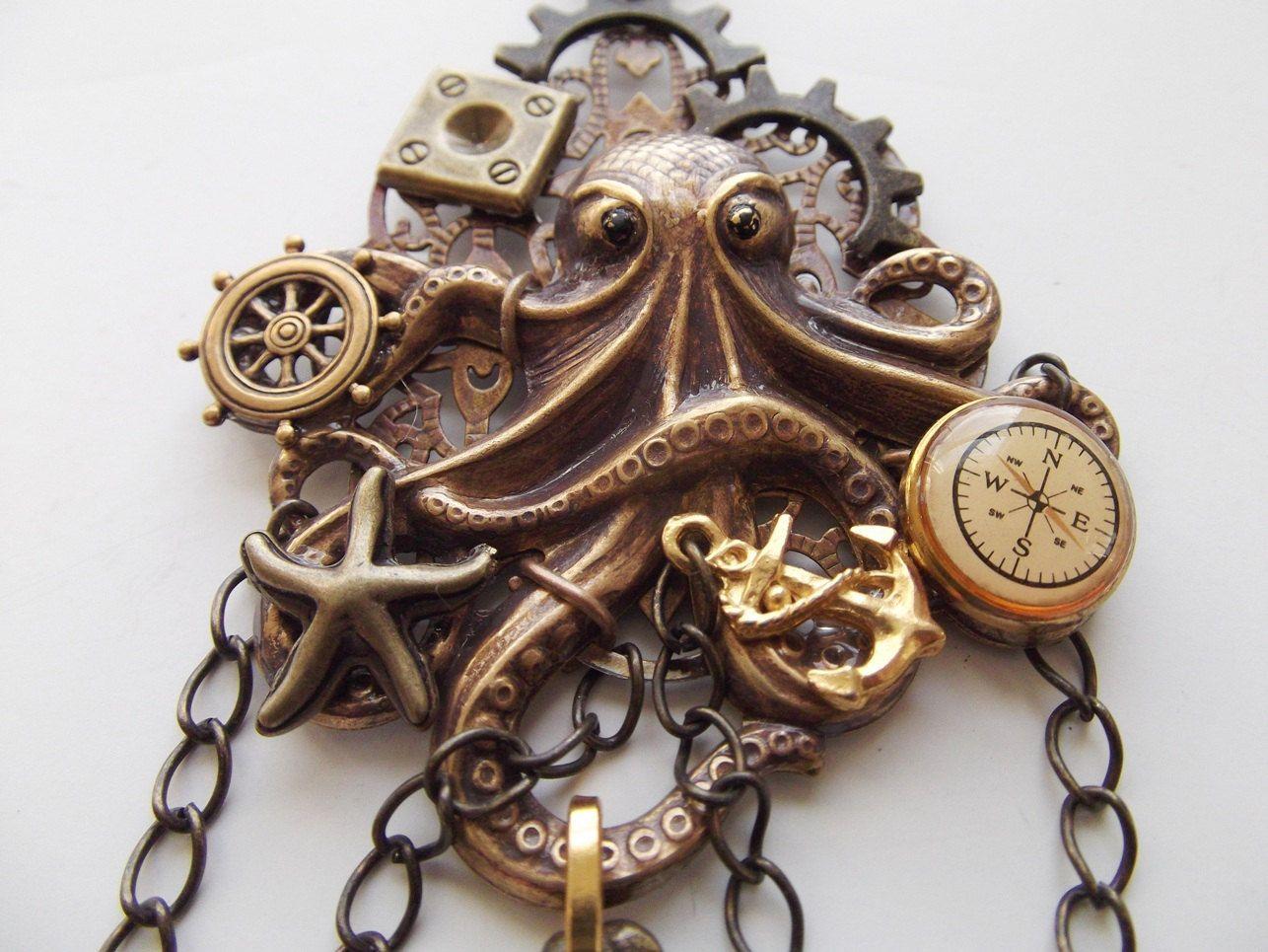 Necklace, Captain Nemo 20,000 Leagues Under the Sea - Sub Captains ...