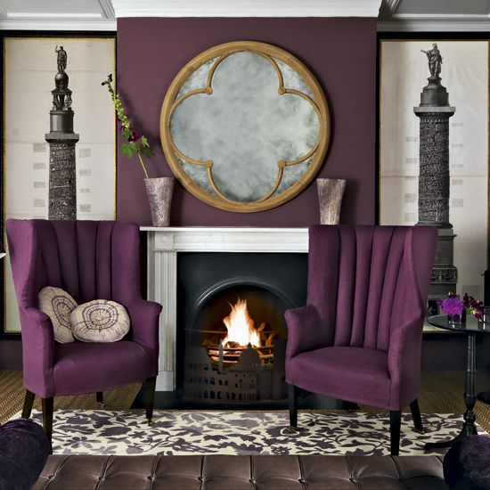 Grey And Purple Living Room what color would you paint this room? | gray, gold and living rooms