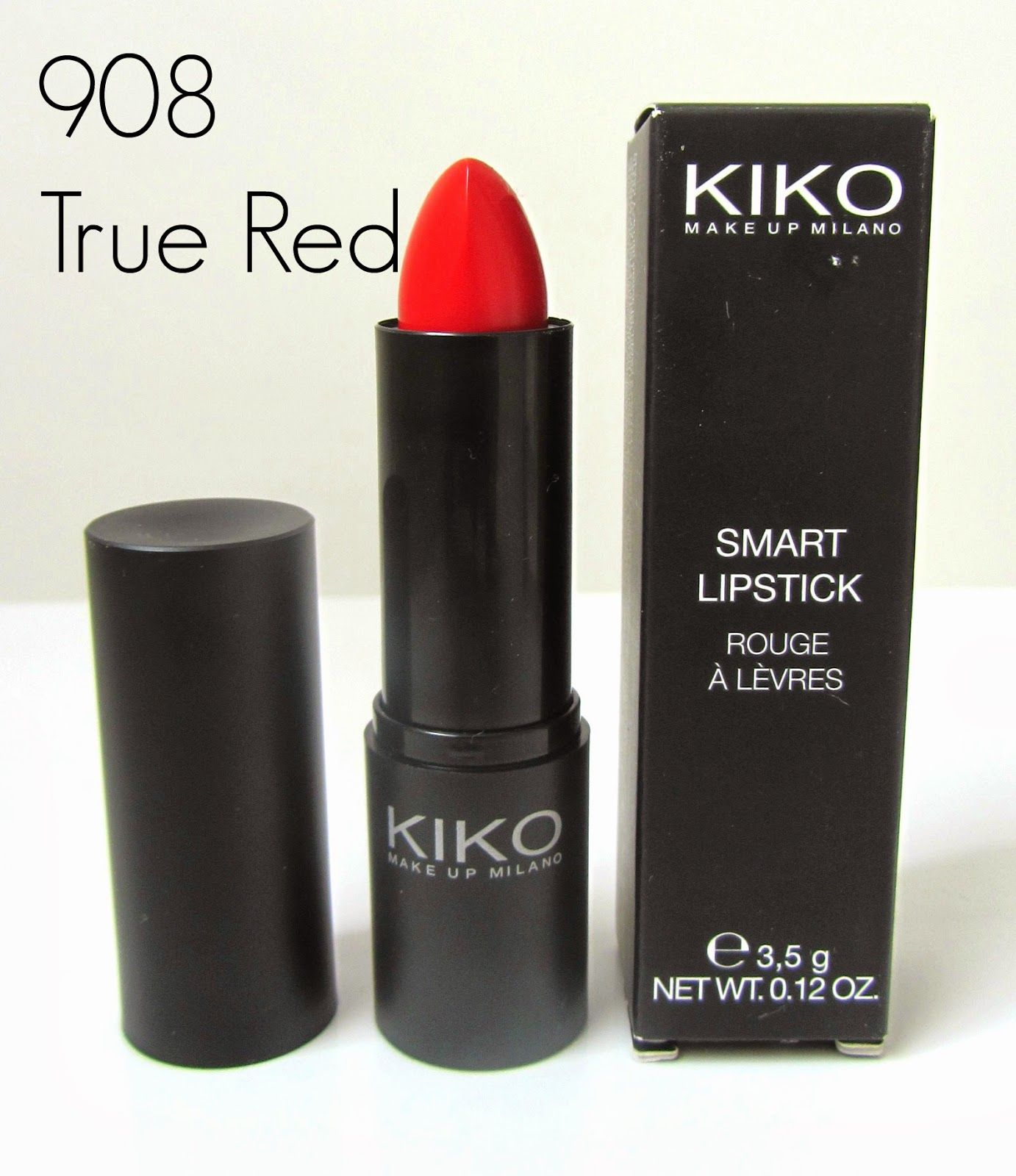 Kiko Smart Lipstick : 908 True Red