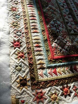 This is a gorgeous quilt and it's a miniature. If you like this ... : longarm quilting blogs - Adamdwight.com