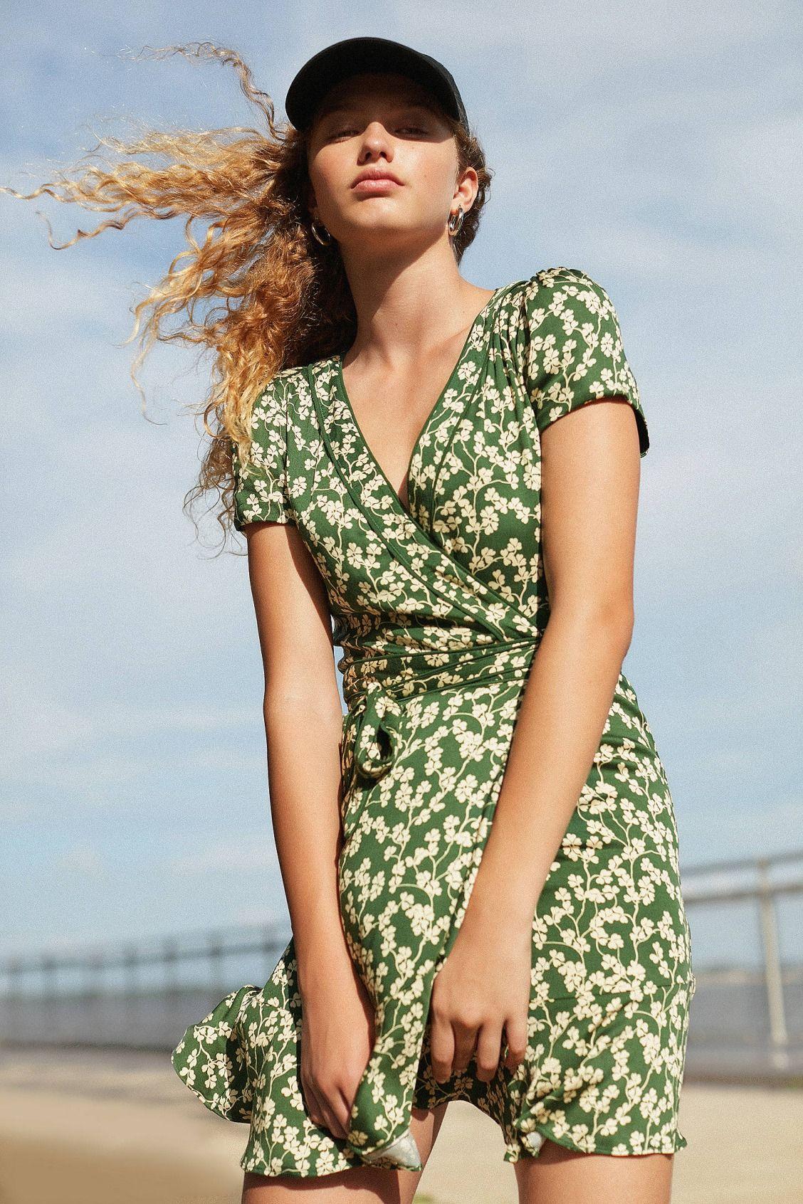7424fd13817e Kimchi Blue Rita Wrap Dress in 2019 | Dresses | Wrap dress floral ...