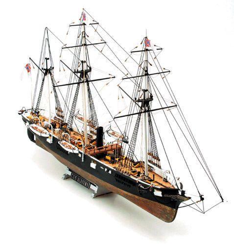 Mamoli Css Alabama Steam Amp Sail Wood Ship Kit Model New