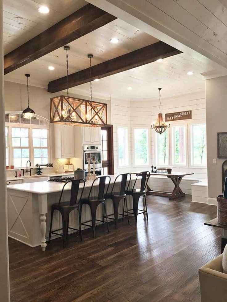25 Contemporary Farmhouse Kitchen Makeover On A Budget Modern
