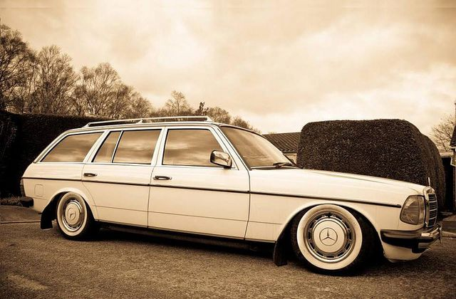 Mercedes Benz W123 Station Wagon Diesel The W123 Pinterest