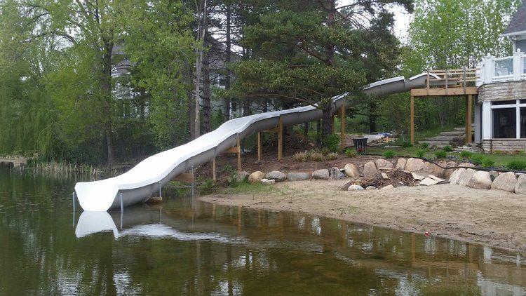 Welcome Lake Landscaping Lake Water Water Slides