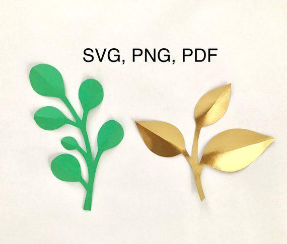 Branches Svg Pdf Png Dxf Paper Flower Leaves Svg Rose Leaves Template Svg Branch Svg Leaf Svg File Svg Leaf Pattern Rose Leaf Template Svg