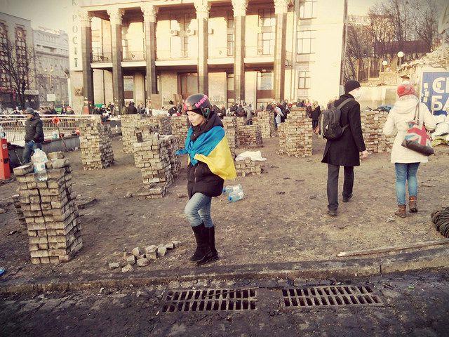 Die Unzufriedenheit der Ukrainer mit der aktuellen Regierung wächst…