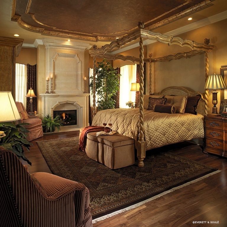 tuscany ways to decorate bedroom | Beautiful Tuscan bedroom ~ love the ceiling detail ...