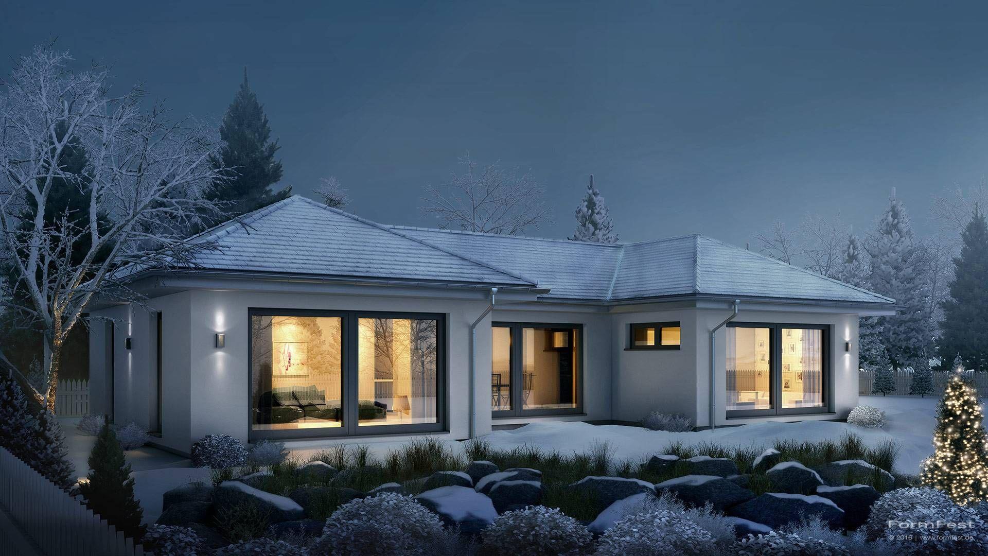 Pin Von Angelika Sz Auf Bungalow: Einfamilienhäuser