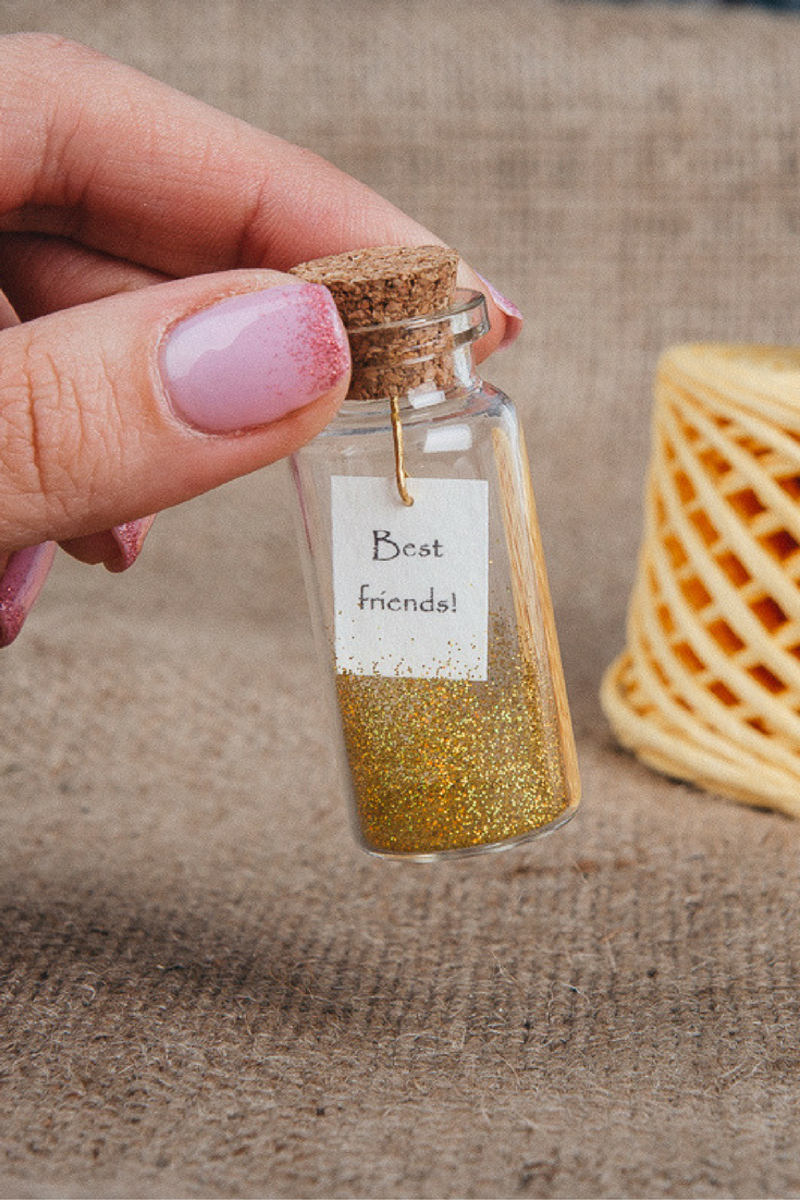 Best Gift Ideas For 13 Year Old Girls: Best Friend Gift Friendship Gifts Tiny Message In A Bottle