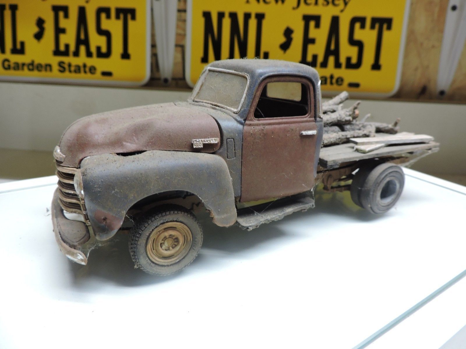 1940 S Chevy Pickup Truck Weathered Up Junker Built Junkyard Ready Ebay
