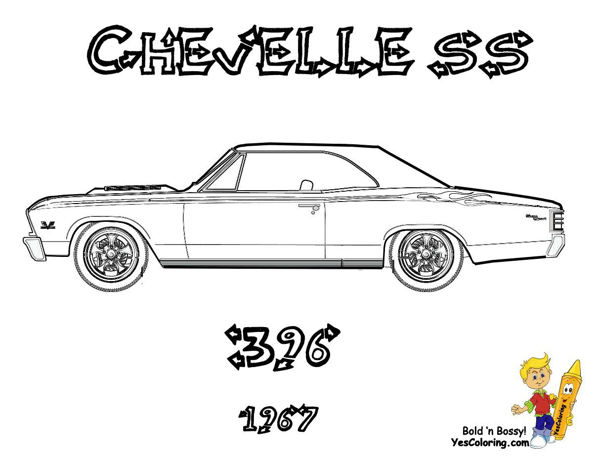 Brawny Muscle Car Coloring Pages Cars Coloring Pages Coloring