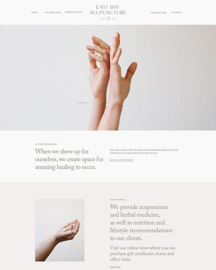 """Chelsey Dyer Studio on Instagram: """"client website, work-in-progress #chelseydyerstudio"""""""