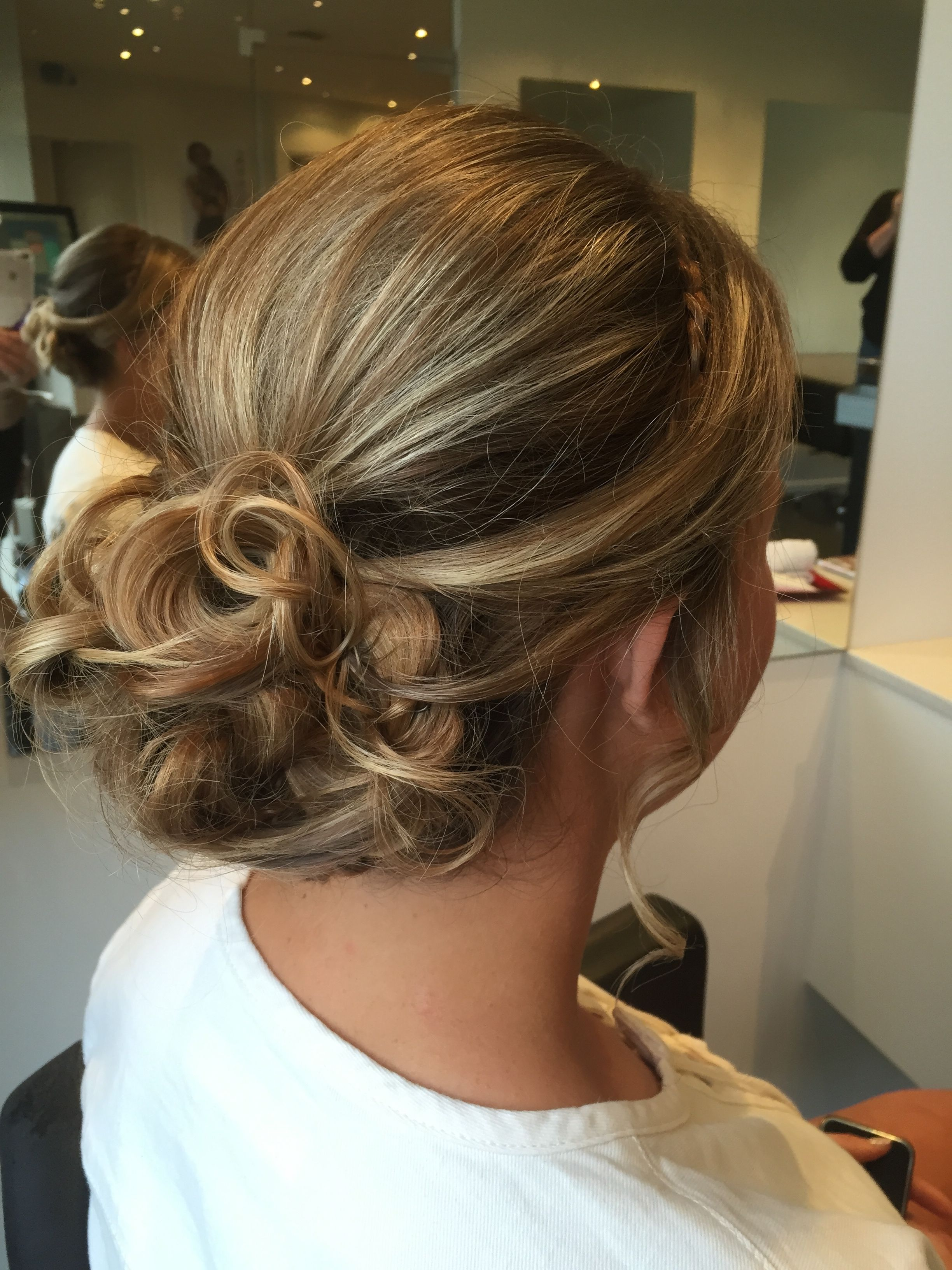 Pretty Twisted Bessy Bun For The Ball Hair By Absolute Hair Www