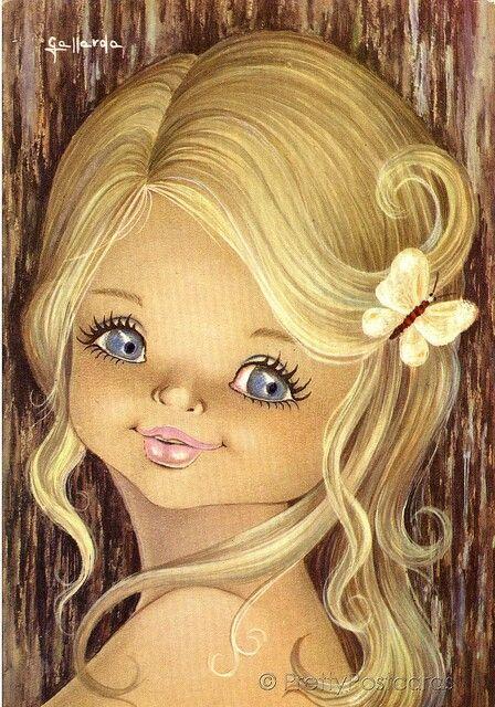 Little miss blue eyes