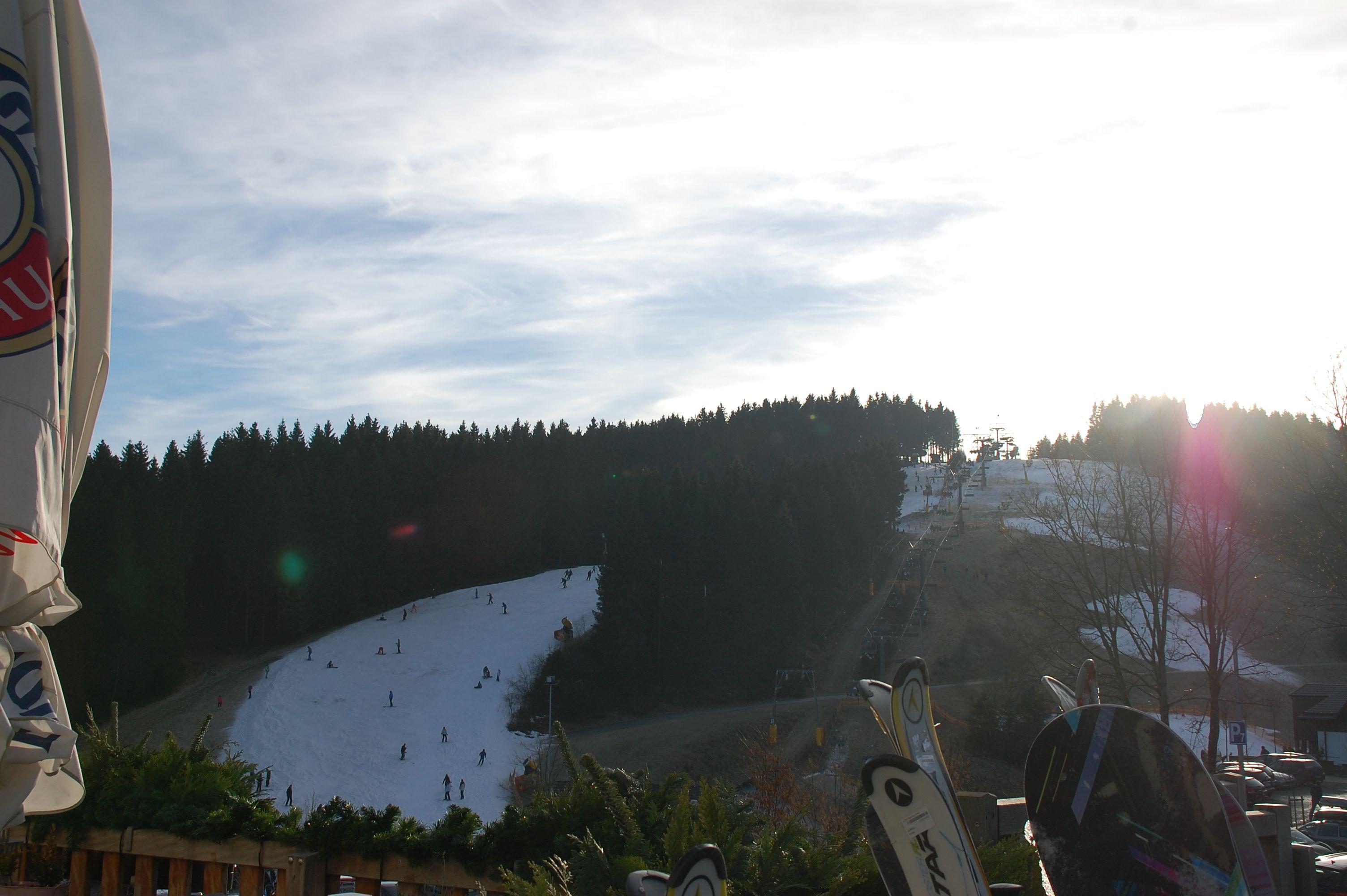 Aan de ene kant van de berg sneeuw... 31/12/2013