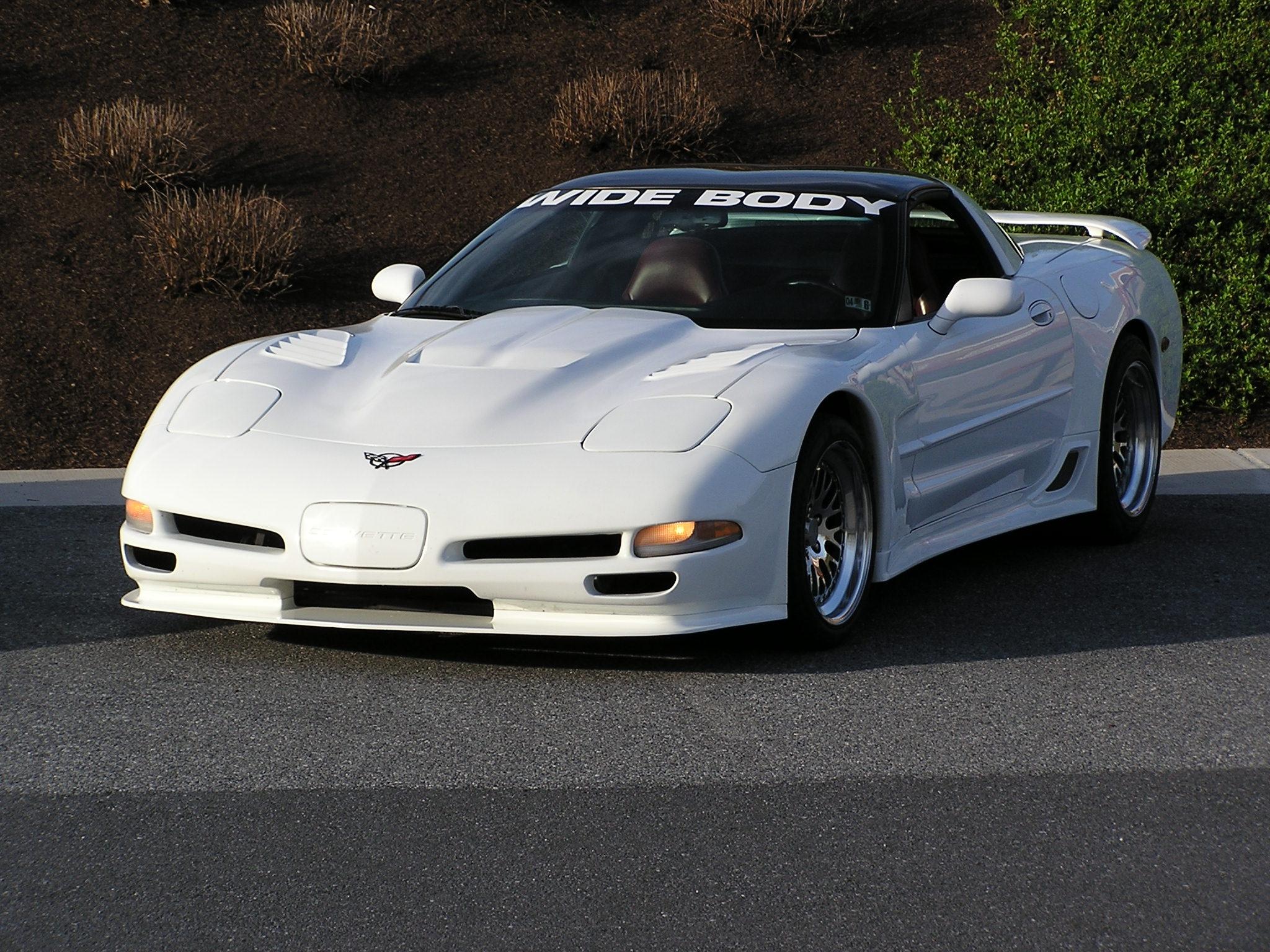Corvette C5 Body Kit | ACP\'s White Wide Body...a head turner ...