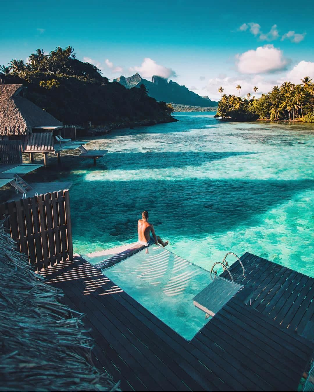 Beaches N Resorts On Instagram Bora Bora Is Always A Good Idea Credits Erubes1 Beachesnresor Luxury Travel Best Honeymoon Destinations Bora Bora