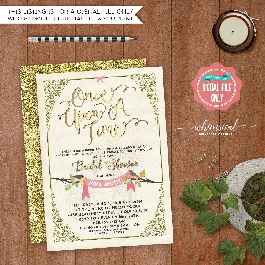 Bridal Shower Invitation \